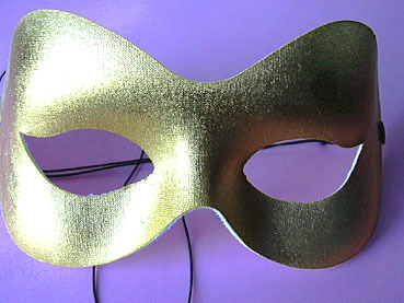 "Maske ""Fashion gold"""